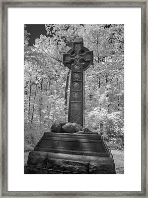 Irish Brigade Monument 0048i Framed Print by Guy Whiteley