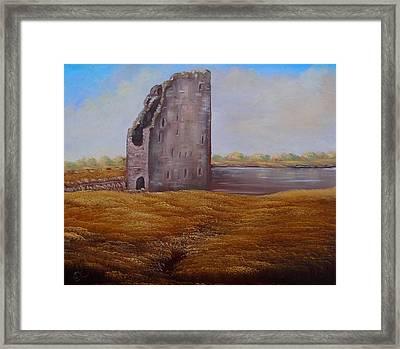 Irish Castle Framed Print by Fineartist Ellen