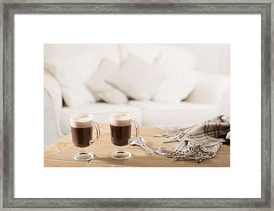 Irish Coffee Framed Print