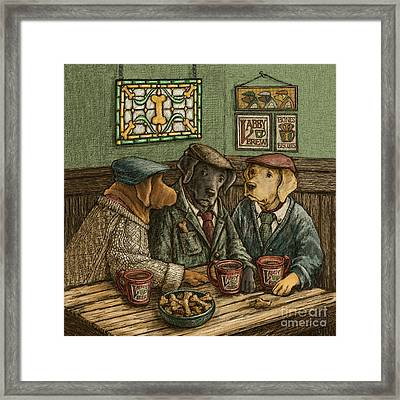 Irish Coffee Framed Print by Kathleen Harte Gilsenan
