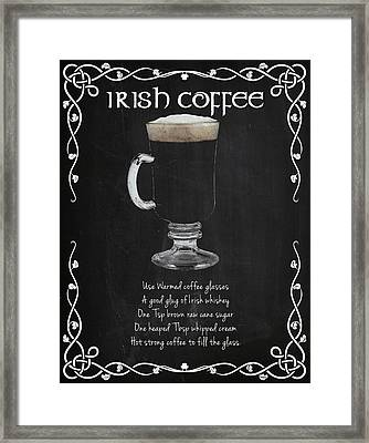 Irish Coffee Framed Print by Mark Rogan