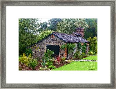 Irish Cottage Framed Print