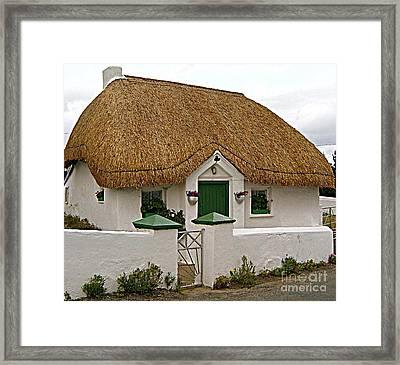 Irish Cottage Framed Print by Frances Hodgkins