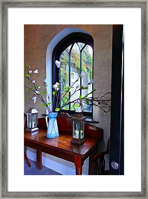 Framed Print featuring the photograph Irish Elegance by Charlie and Norma Brock