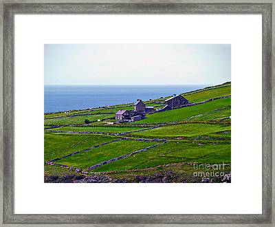 Irish Farm 1 Framed Print