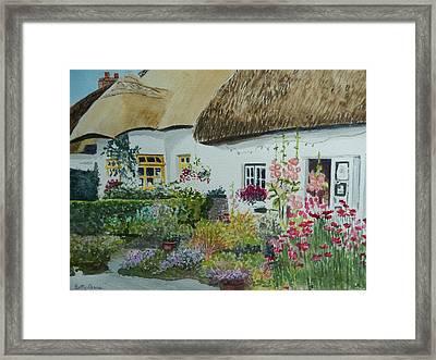 Irish Garden Framed Print
