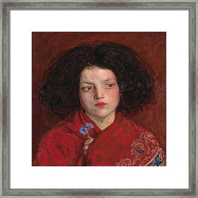 Irish Girl Framed Print by Philip Ralley