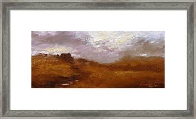 Irish Landscape II Framed Print by John Silver