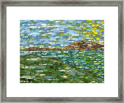 Irish Landscape Framed Print by Patrick J Murphy