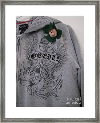 Irish  Oh Yeah Framed Print by Judyann Matthews