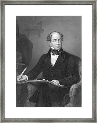 Irish Poet Thomas Moore Framed Print