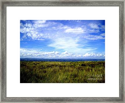 Irish Sky Framed Print by Nina Ficur Feenan