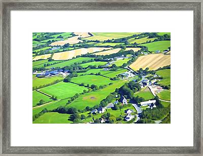Irish Skyscape Framed Print