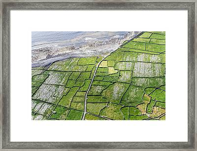Irish Stone Walls Framed Print