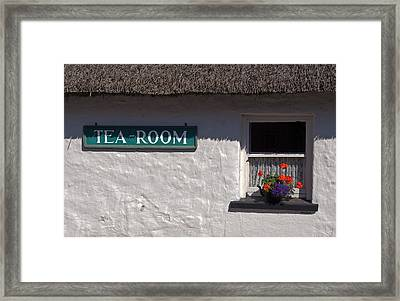 Irish Tea Framed Print