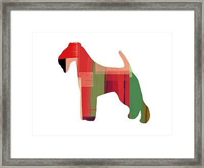 Irish Terrier Framed Print by Naxart Studio