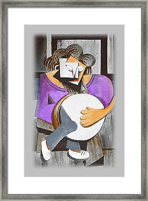 Irish Percussionist Framed Print