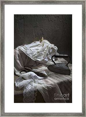 Iron And Lace Framed Print by Elena Nosyreva