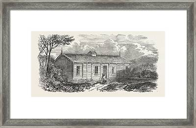 Iron Ball-room Constructed For Balmoral Framed Print by English School