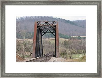 Iron Bridge Framed Print