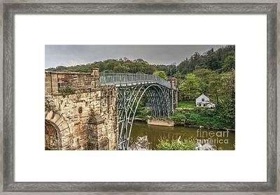Iron Bridge Framed Print by Mickey At Rawshutterbug
