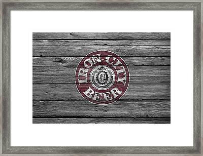 Iron City Beer Framed Print