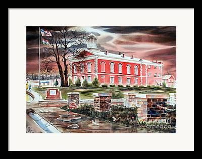 Ironton Framed Prints