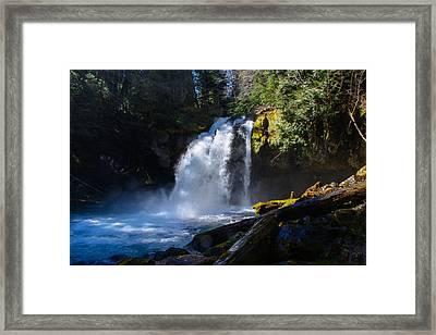 Iron Creek Falls Framed Print by Tikvah's Hope