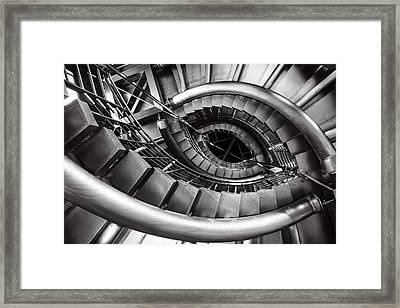 Iron Eye Framed Print