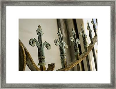 Iron Gates Framed Print