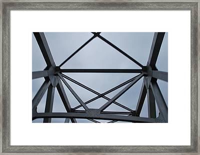 Iron Grasp Framed Print by Michelle Pierce