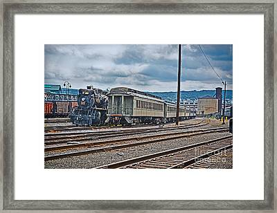 Iron Horse Framed Print by Gary Keesler