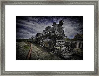 Framed Print featuring the photograph Iron Horse by Russell Styles