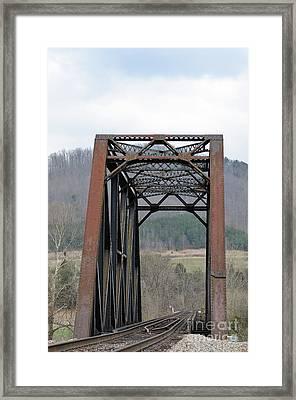 Iron Horse Trestle Framed Print