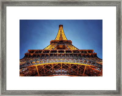 Iron Lady Framed Print