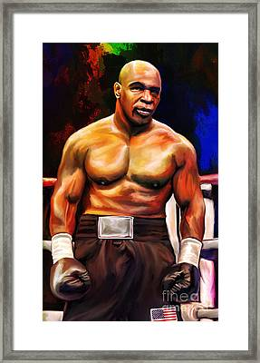 Iron Mike. Framed Print