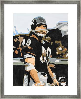 Iron Mike Ditka Framed Print