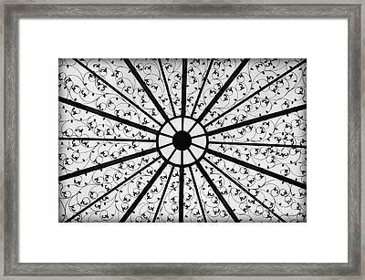 Iron Framed Print
