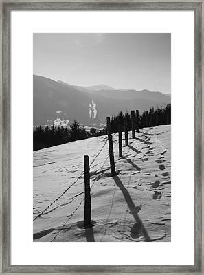 Iron Skies Framed Print