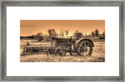 Iron Workhorse Framed Print