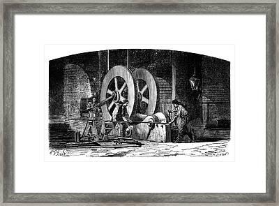 Iron-working Machinery Framed Print