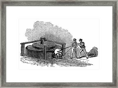 Iron Works Framed Print