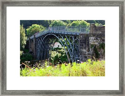 Ironbridge. Framed Print by Mark Williamson/science Photo Library