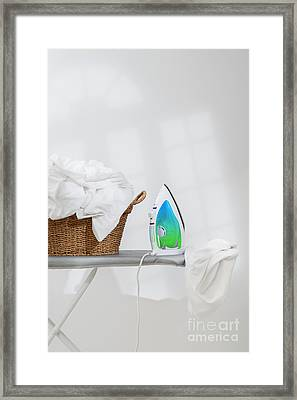 Ironing Framed Print