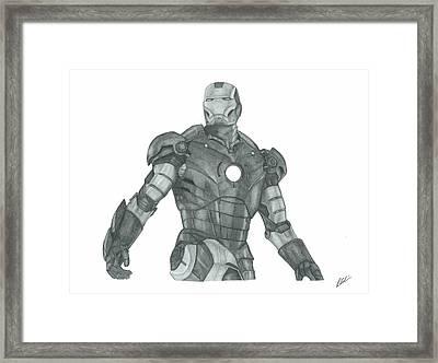 Ironman Framed Print by Rich Colvin