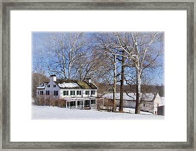 Ironmasters House Framed Print by Carolyn Derstine