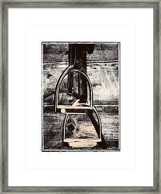 Irons Tack Framed Print by JAMART Photography