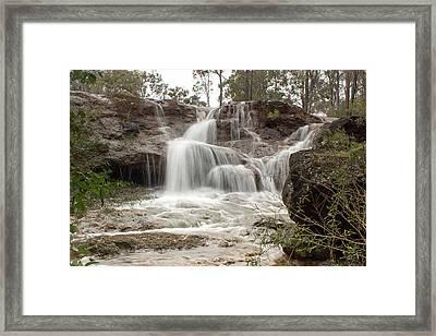 Ironstone Gully Falls 1 Framed Print