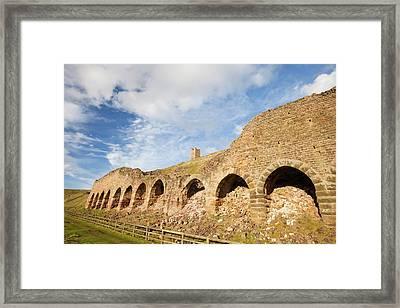 Ironstone Kilns Framed Print