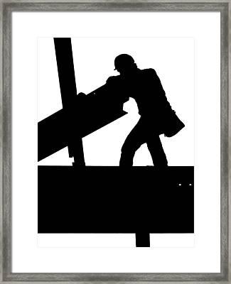 Ironworker 1 Framed Print